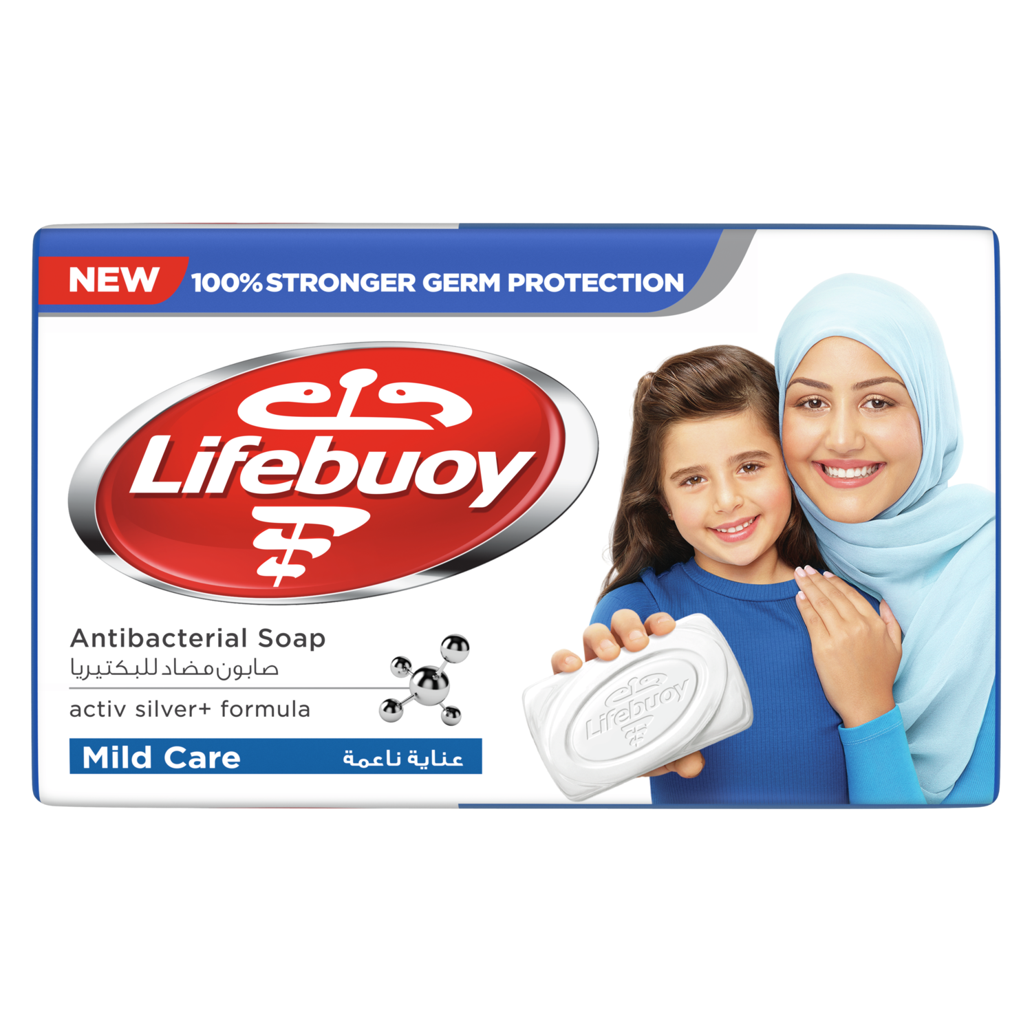 LIFEBUOY BAR MILD CARE(STARK) 72X125G