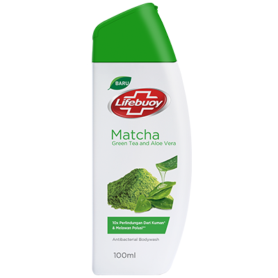 New Lifebuoy Sabun Cair Matcha 100ml