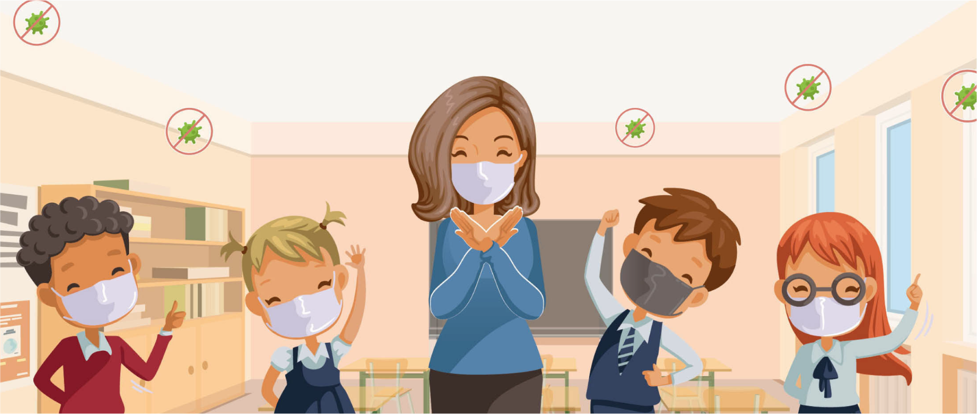 When germs go learning grows