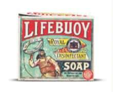 Lifebuoy soap sent to soldiers during WWI